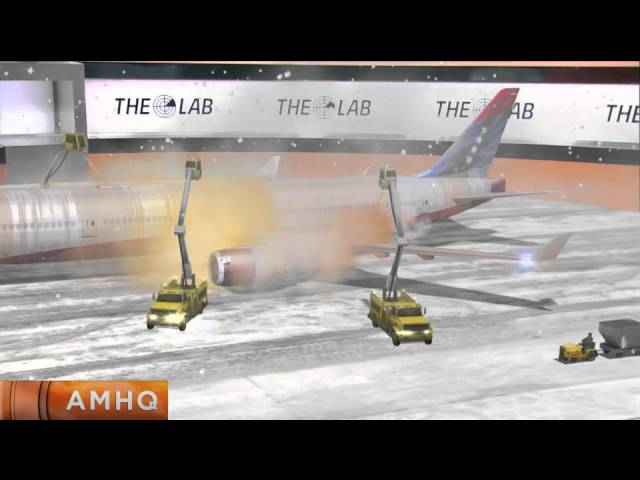 Science Behind Deicing Aircraft in 3D!