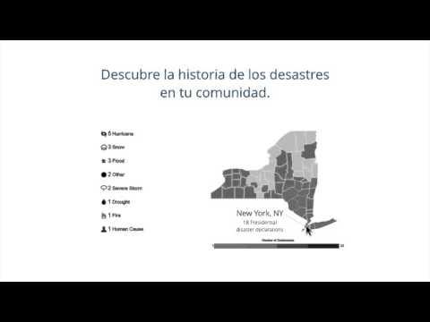 Disaster Data Viz Tool (Spanish): Descubre la Historia de Desastres en tu Comunidad