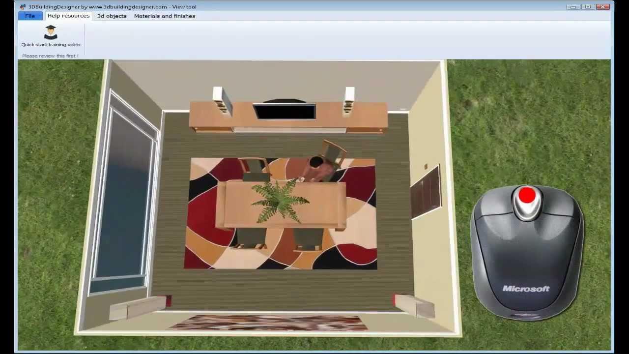 3dbuildingdesigner home design software fast start for