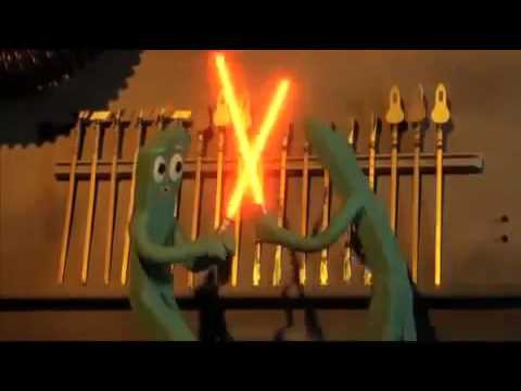 Gumby the Movie (1995): Lightsaber Duel