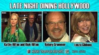 Kathy Hilton and Rick Hilton, Leeza Gibbons, Kelsey Grammer H2944 Paparazzi Henry Reports 051613