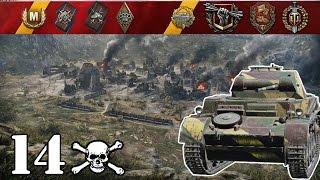 World of Tanks / Pz. II .. 14 Kills
