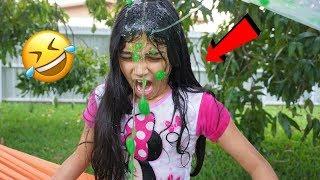BEST SLIME PRANK ON MY SISTER!!