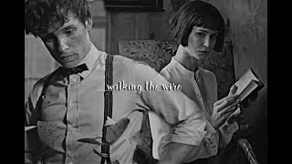 Newt & Tina (fantastic beasts) | walking the wire