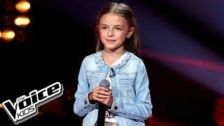 """Elena Jakubiec - """"True Colors"""" - Przesłuchania w ciemno - The Voice Kids 2 Poland"""
