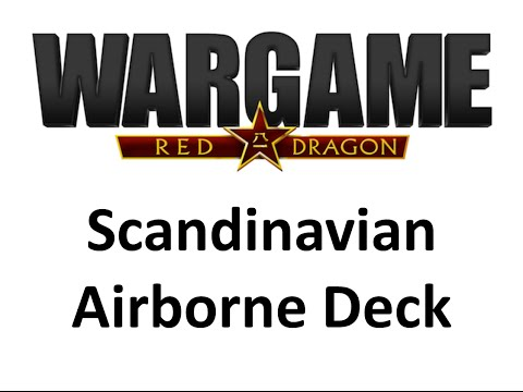 Wargame Red Dragon - Scandinavian Airborne Deck