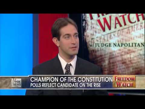 Jake Towne and Judge Napolitano on FOX Freedom Watch Constitutional Candidate (Feb 2010) Video