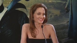 Angelina Jolie talks about her daughter starring alongside her in Maleficent