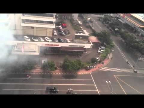 Bomb blast in Jakarta