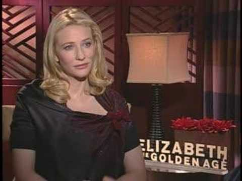 CATE BLANCHETT TALKS ABOUT ELIZABETH: THE GOLDEN AGE Video