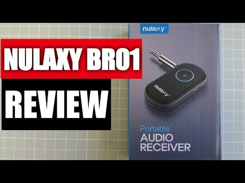 Nulaxy BR01 Portable Bluetooth Audio Receiver Review