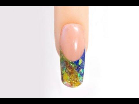 Jewel Tone Nails - Using Young Nails Pigments and Acrylics - Acrylic Nails