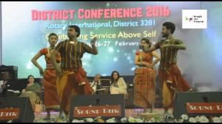Babu Salam Bare Bar   Bangla Dance in Live Program By Evana, Fuad, Sabbir