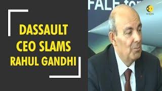Dassault CEO Eric Trappier responds to Rahul Gandhi on Dassault-Reliance joint venture