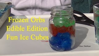 "Eat ""Frozen Orbs"" Mini Frozen Water Balloons Edible Edition by Request"