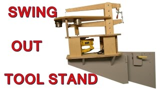Swing Out Tool Stand