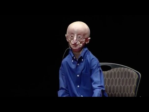 My philosophy for a happy life: Sam Berns at TEDxMidAtlantic klip izle