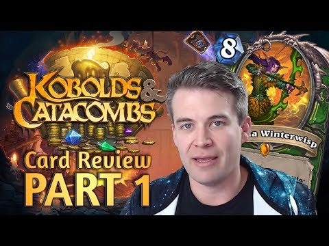 (Hearthstone) Kobolds & Catacombs Review: Part 1 (Druid. Hunter. Mage)