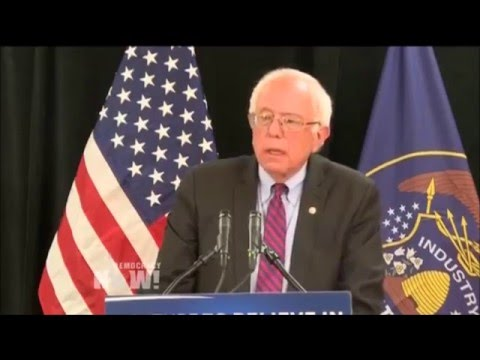 Warmonger Hilary Clinton VS Bernie Sanders on ISRAEL