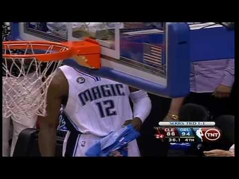 Dwight Howard CLEAN BLOCK on LeBron, but FOUL?