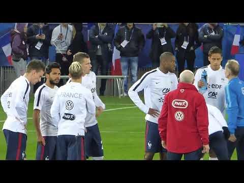 Olivier Giroud ● Alexandre Lacazette ● France - Danemark 2015