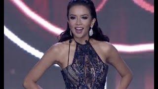 Huyền My tỏa sáng rực rỡ trong bán kết Miss Grand International 2017
