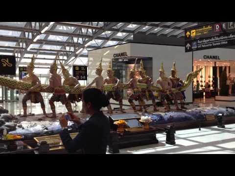 Flughafen Bangkok: Abflughalle Duty Free Shopping