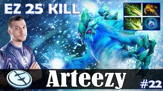 Arteezy - Morphling Safelane | EZ 25 KILL 7.17 Update Patch | Dota 2 Pro MMR Gameplay #22
