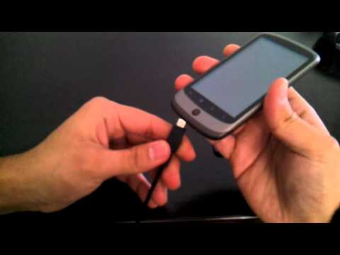 How to turn on and use Nexus One with broken power button