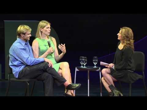 Laird Hamilton and Gabby Reece at TEDMED 2012
