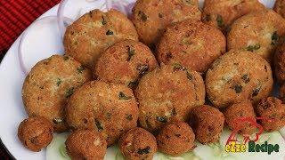 বাবুর্চি স্টাইলে শামি কাবাব | Biye Barir Shami Kabab | Shami Kabab Recipe in Bangla
