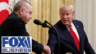 Trump working toward a $100 billion trade agreement with Turkey