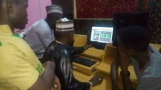 Hussaini Danko Da Ado Gwanja a studio