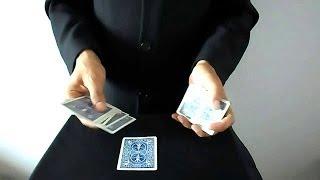 تعلم العاب الخفة # 187 ( حيلة بالورق للمبتدئين في خفة اليد ) free magic trick
