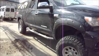 Toyota Tundra off road tuning