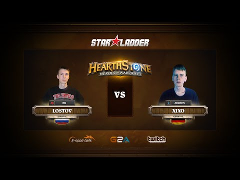 [RU] Lostov vs XiXo   SLTV Hearthstone Kick-Off Season