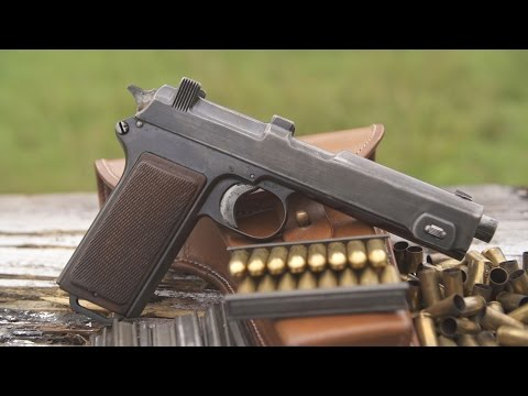 steyr m1912 machine pistol