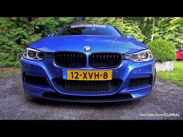 BMW 335i (F30) w/ Akrapovic Evolution Exhaust System!
