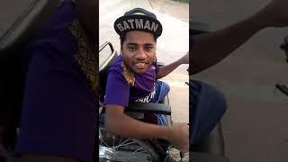 Hyderabadi handicapped sports bike automatic