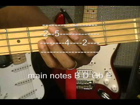 Daft Punk Get Lucky Grammy Winner Nile Rodgers Bass Guitar Lesson cover Instruction video