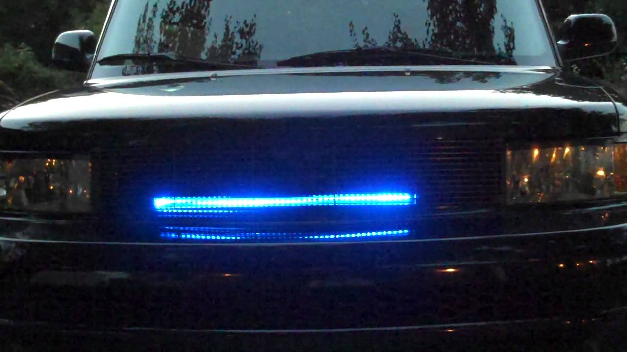 Knight Rider Led Scanner Knight Rider Led Scanner Grill