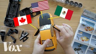 NAFTA, explained with a toy car