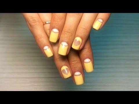 Дизайна ногтей лунный
