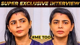 "EXCLUSIVE: ""I will surely complain"" – Chinmayi Sripaada on Vairamuthu"