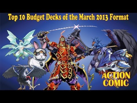 Top 10 Budget Decks of March 2013 Format!