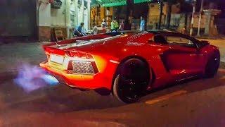 Lamborghini Aventador Roadster Đánh Thức Sài Gòn Nửa Đêm | XSX