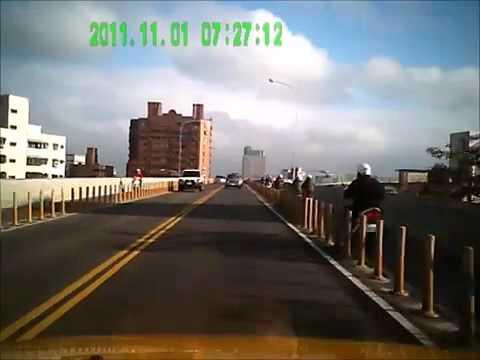 Потерял управление на мосту. ДТП с участием скутера