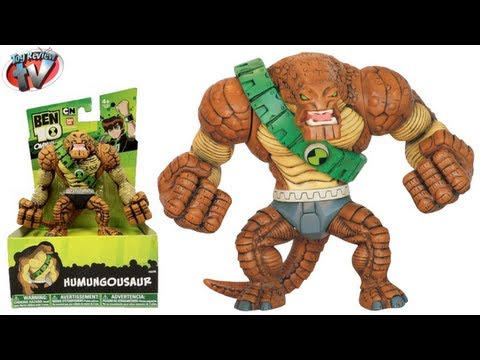 Ben 10 Omniverse Humungousaur Hyper Alien Action Figure Toy Review. Bandai