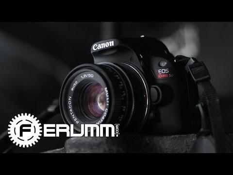 Canon EOS 100D Видеообзор. Подробный обзор фотоаппарата Canon EOS 100D от FERUMM.COM