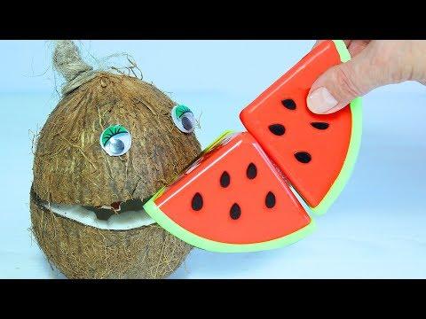 Песенка про Пальчики Учим названия овощей с Мистером Кокосом